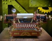 Steam Typewriter